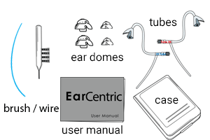 Ear Centric Rechargeable Hearing Aids EasyCharge hearing aids